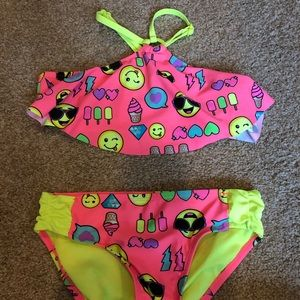 Justice Girls bikini size 10